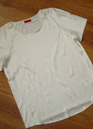 Шелковая футболка, hugo boss, р.l