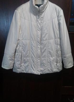 Gerry weber edition демисезонная стёганная куртка 44/xl/52 размер