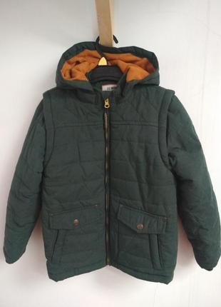Тепла куртка/жилетка 2в1