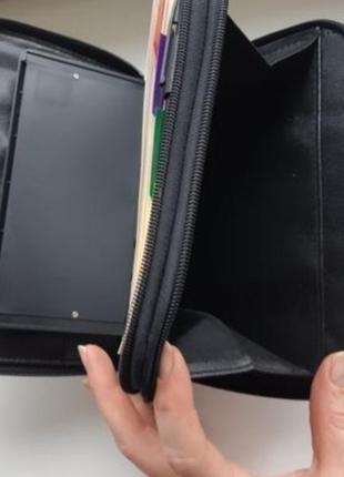 Барсетка, сумка мужская с блокнотом и калькулятором