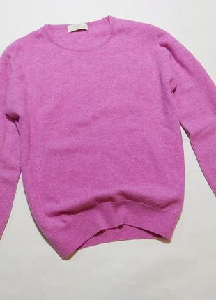 Шерстяной свитер m&s размер s