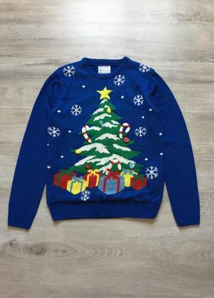 Новогодний свитер с светодиодами cedarwood state