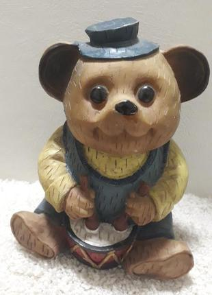 Винтажная статуэтка из германии. мишка.