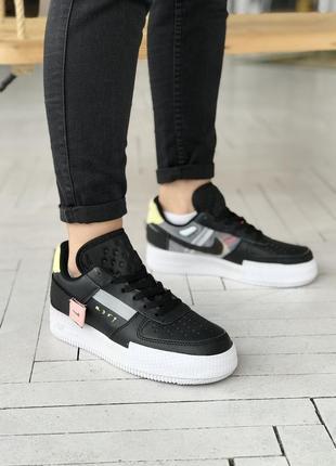 Nike air force low 🍏 стильные женские кроссовки найк