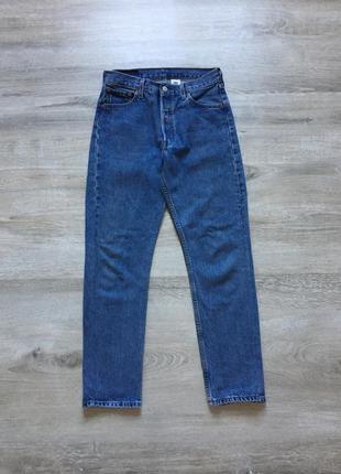 Зауженые мужские джинсы levi's 501