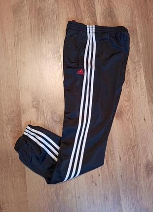 Штаны adidas спортивные s адидас с полосами лампасами