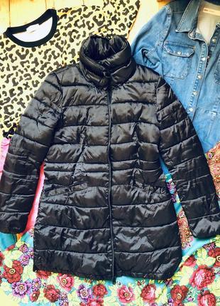 Стильний пуховик пальто зима