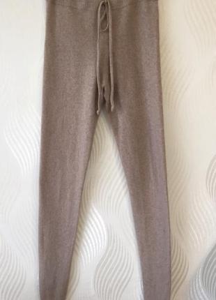 Кашемирые лосины леггинсы плотной вязки pinotti cashmere премиум бренд