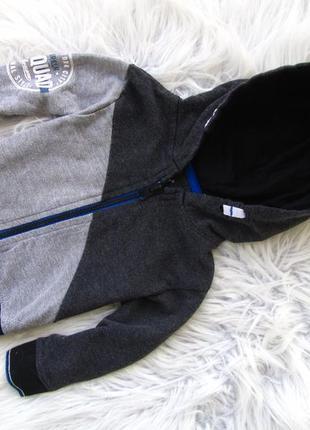 Кофта свитер реглан бомбер с капюшоном rebel