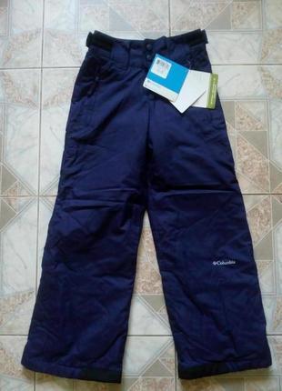 Новые лыжные штаны columbia на 7-8 лет omni-shield