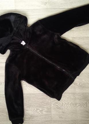Демисезонная детская куртка велсофт
