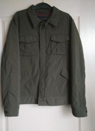Хаки куртка manguun