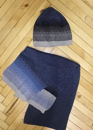 Комплект шапка шарф frash р.52-54