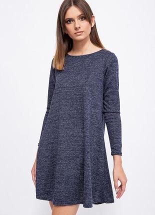 Платье, цвет тёмно-синий