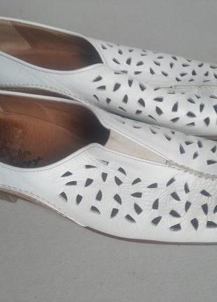 Кожанные туфли повыщенной конфортности gabor