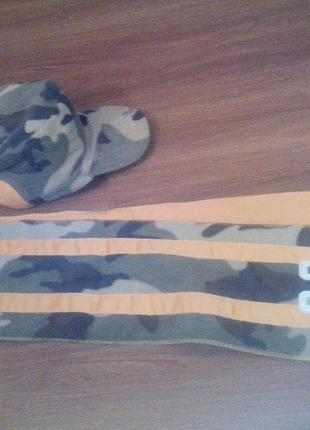 Стильный комплект шапка+шарф gap