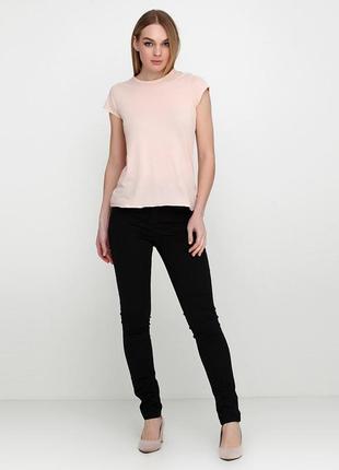 Стильные черные джинсы slim fit от esmara eur 36( 27/32) р.