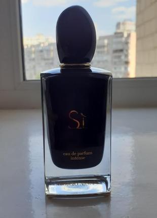 Продам парфюм sì intense giorgio armani для женщин