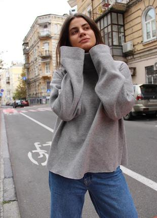 Серый свитер vilisk