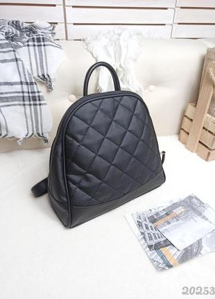 Стёганный рюкзак женский