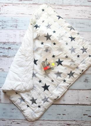 Одеяло в кроватку/коляску + бутылочка