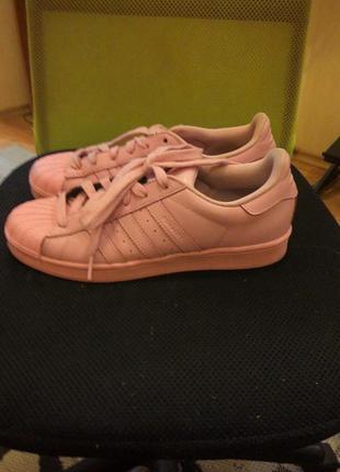 Кроссовки adidas,оригинал,кожа
