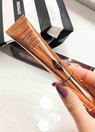 Жидкий хайлайтер charlotte tilbury beauty light want оттенок pillow talk