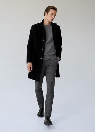 Стильные мужские брюки в клетку next