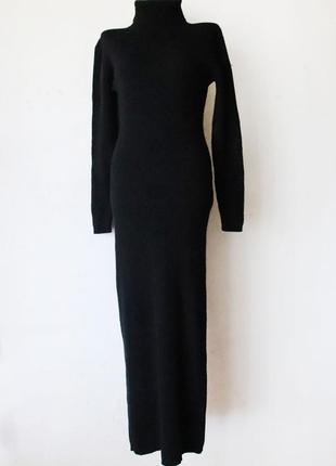 Очень теплое шерстяное  платье в пол  essentiel на высокую девушку 100% шерсть