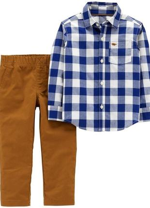 Комплект костюм штани сорочка carters 24м