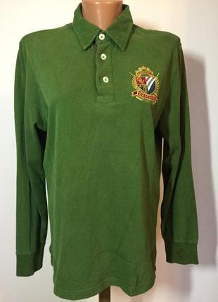 Итальянская мужская футболка-роло/m/brend galvanni