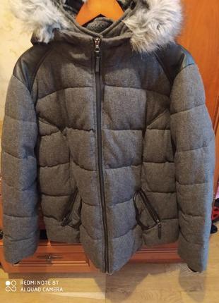 Куртка зимняя женская фирменная 54-56