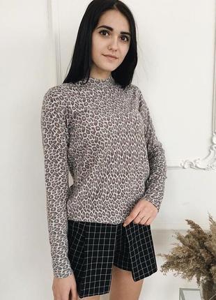 Леопардовый свитерок atmosphere