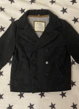 Стильное пальто zara 2-3 года