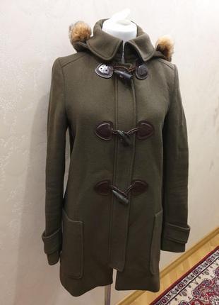 Пальто massimo dutti s