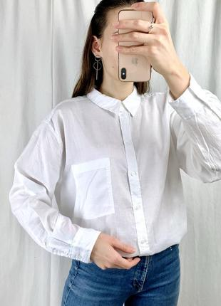 Красива нова котонова сорочка