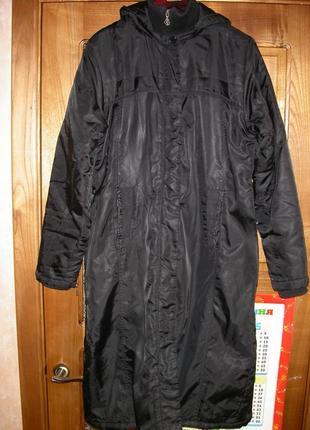 Отличное демисезонное пальто размер 44-46.на высокую девушку