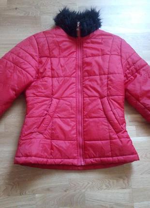Отличная женская демисезонная  куртка  на холодную осень-весну.