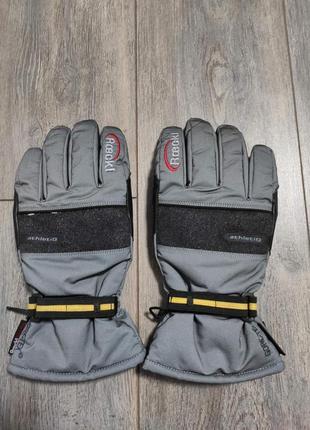 Мужские зимние сноуборд лыжные перчатки    roeckl  gore-tex
