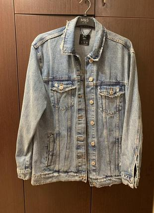 Bershka джинсовая куртка