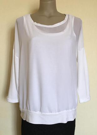 Доступно - комбинированная блуза *gina benotti* р. м-40/42