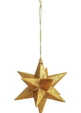 Новогоднее украшение h&m home звезда