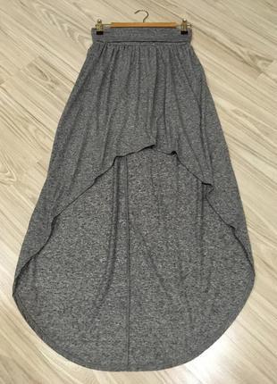 Крутая ассиметричная юбка topshop