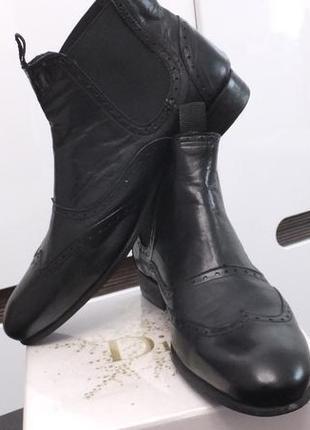 Smh shoes unlimited р.41 -42 португалия демисезонные кожаные ботинки челси сапоги