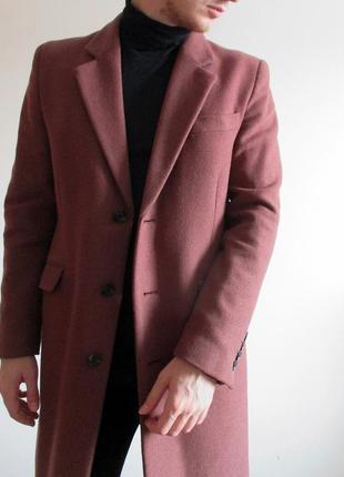 Мужское пальто asos - wool mix coat