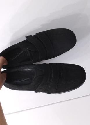 Medicus германия р. 38 ст. 25 см замшевые туфли мокасины кроссовки тапочки