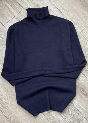 Шерстяная кофта свитер гольф водолазка ralph lauren
