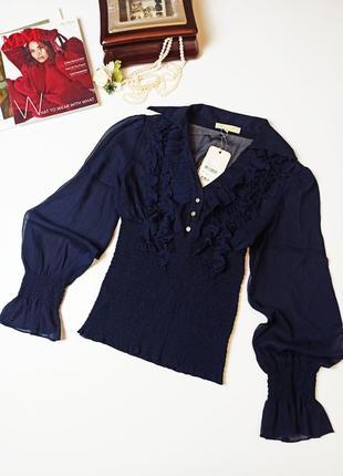 Рубашка с корсетом из резинок утягивающая талию