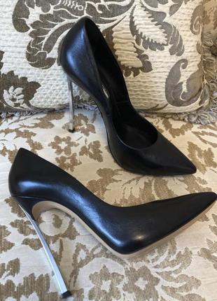 Casadei туфли роскошные оригинал🖤 36.5 размер