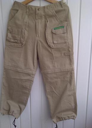 Треккинговые штаны трансформеры сamel trophy adventure wear